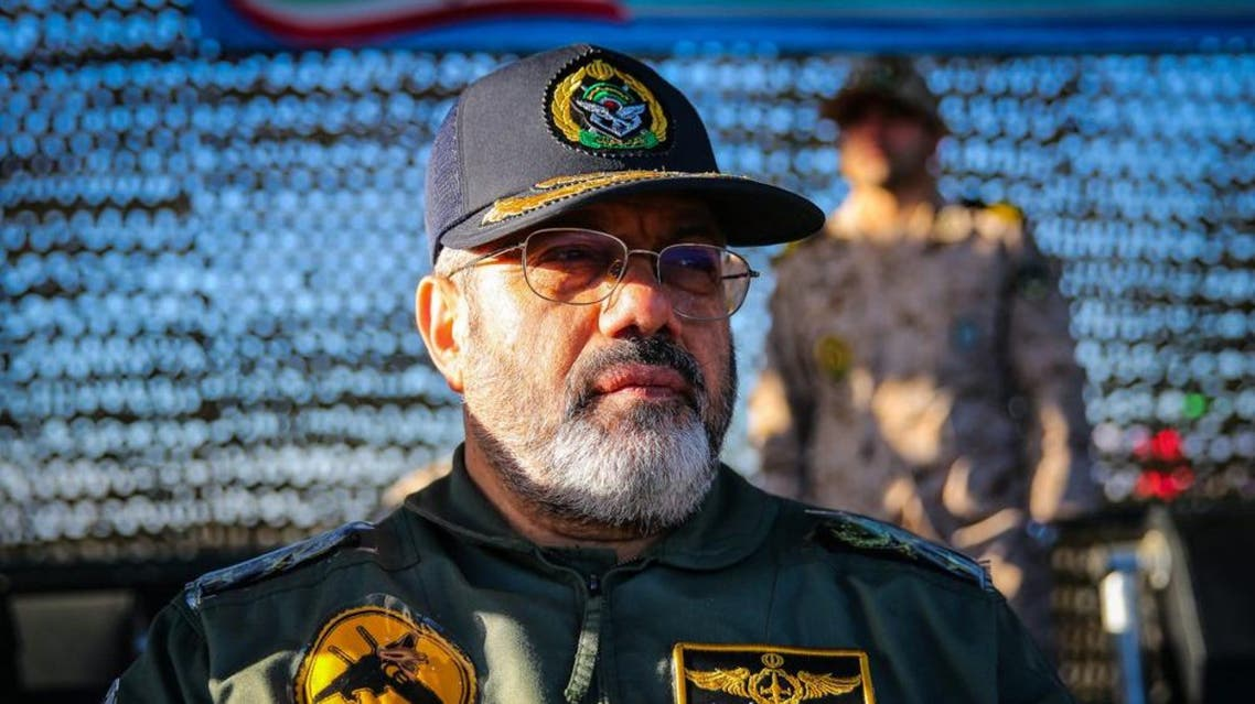 Iran air force commander Nasirzadeh. (Photo courtesy: YCJ)