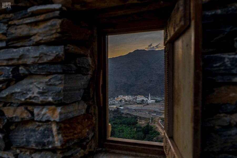 Saudi village of Thee Ain (SPA).
