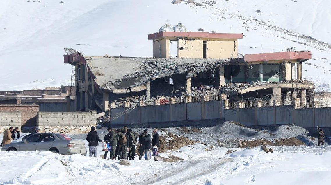 Taliban attack on security base in Maidan Wardak province (Reuters)