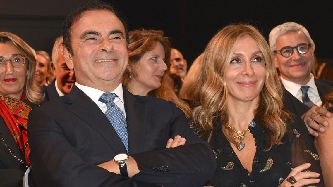 زوجة كارلوس غصن