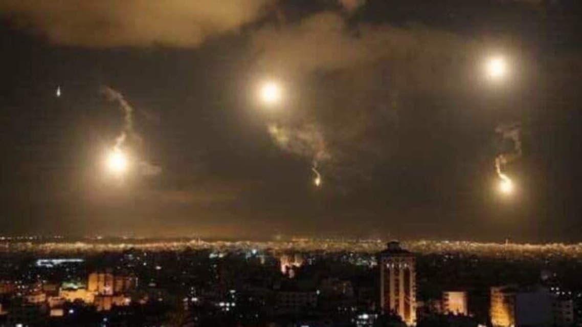 غارات إسرائيلية على دمشق
