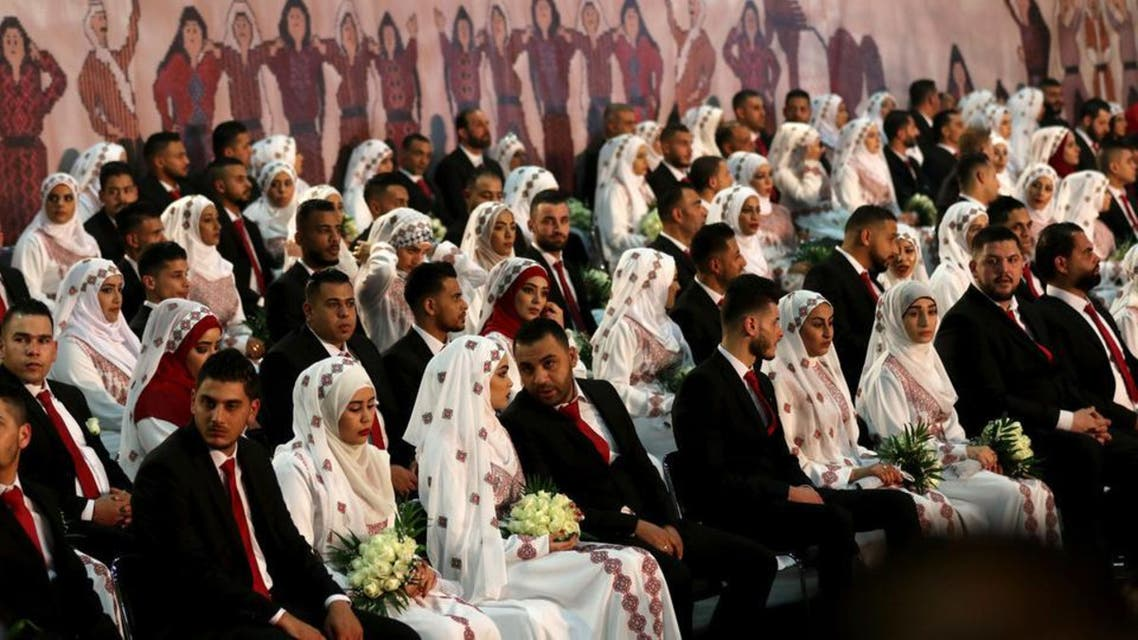 labanon: palestnian couples
