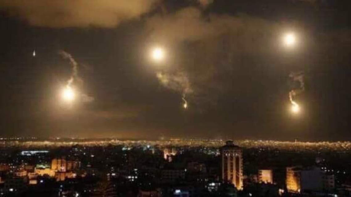 Isreal attack on Iran in syria