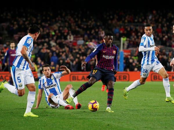 ديمبلي جاهز لدعم برشلونة في أهم مراحل الموسم