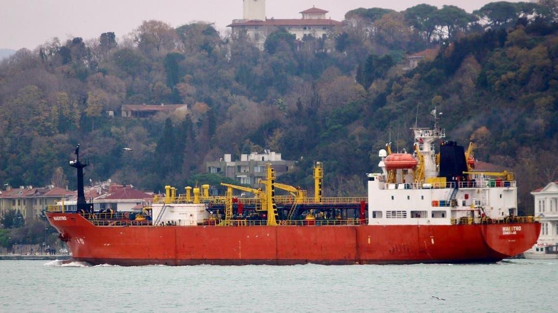 Tanzanian-flagged LPG tanker Maestro (Reuters)