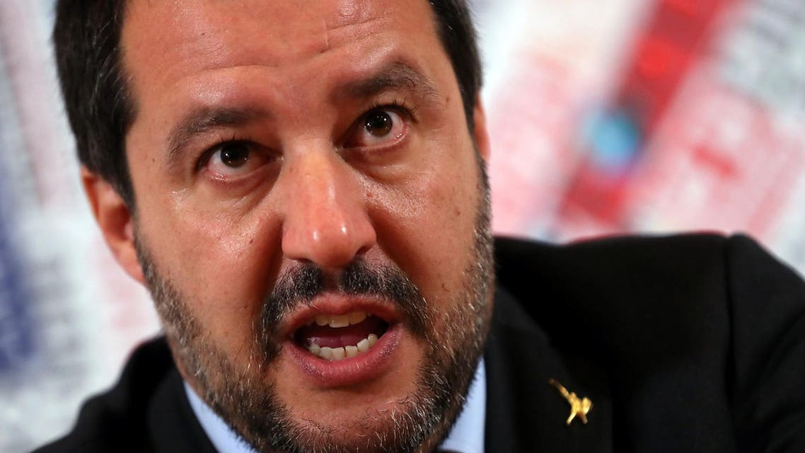 Matteo Salvini said on Tuesday that France did not want to bring calm to Libya because its energy interests there clashed with those of Italy. (File photo: Reuters)