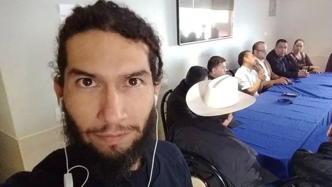 Slain Mexican journalist  Rafael Murua Manriquez. (Twitter)