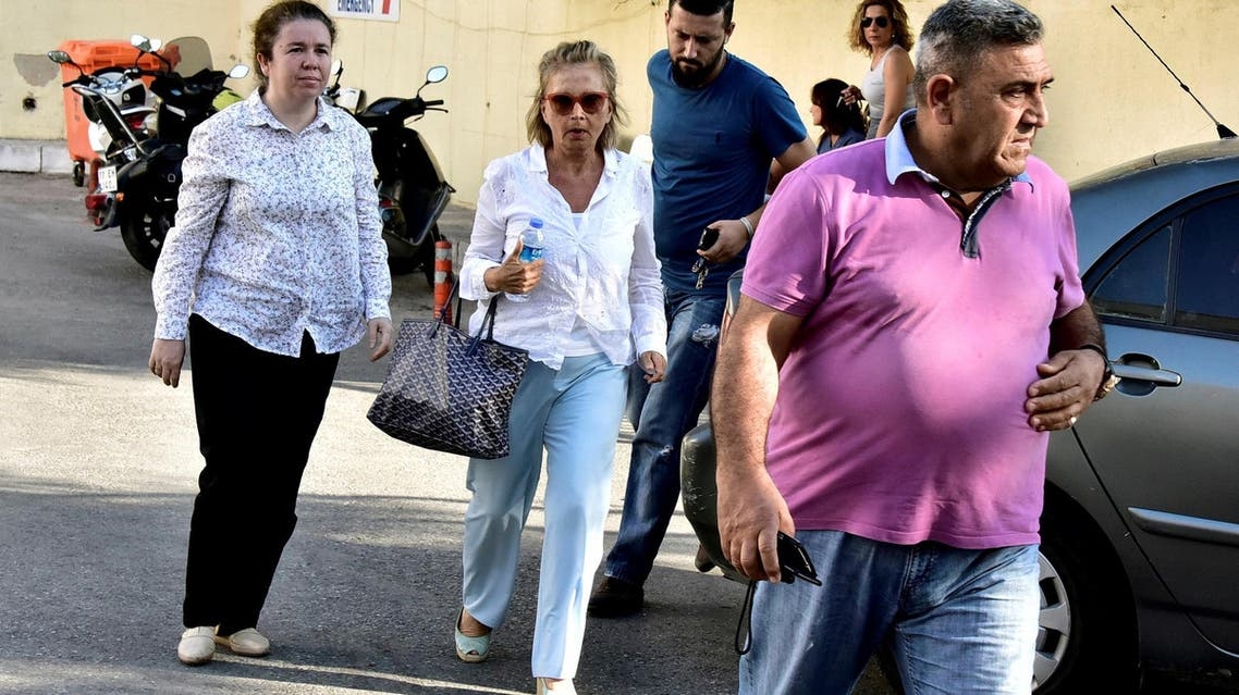Journalist Nazli Ilicak (middle) is serving life sentence in prison and will serve an additional six years. (file photo: Reuters)