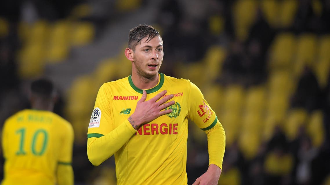 Newly signed Cardiff City soccer player Emiliano Sala was on board a light aircraft that went missing over the English Channel late on Monday. (File Photo: AFP)