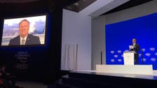 Pompeo speaks at Davos forum via live feed due to government shutdown