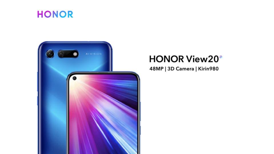 نتيجة بحث الصور عن هاتف Honor View 20