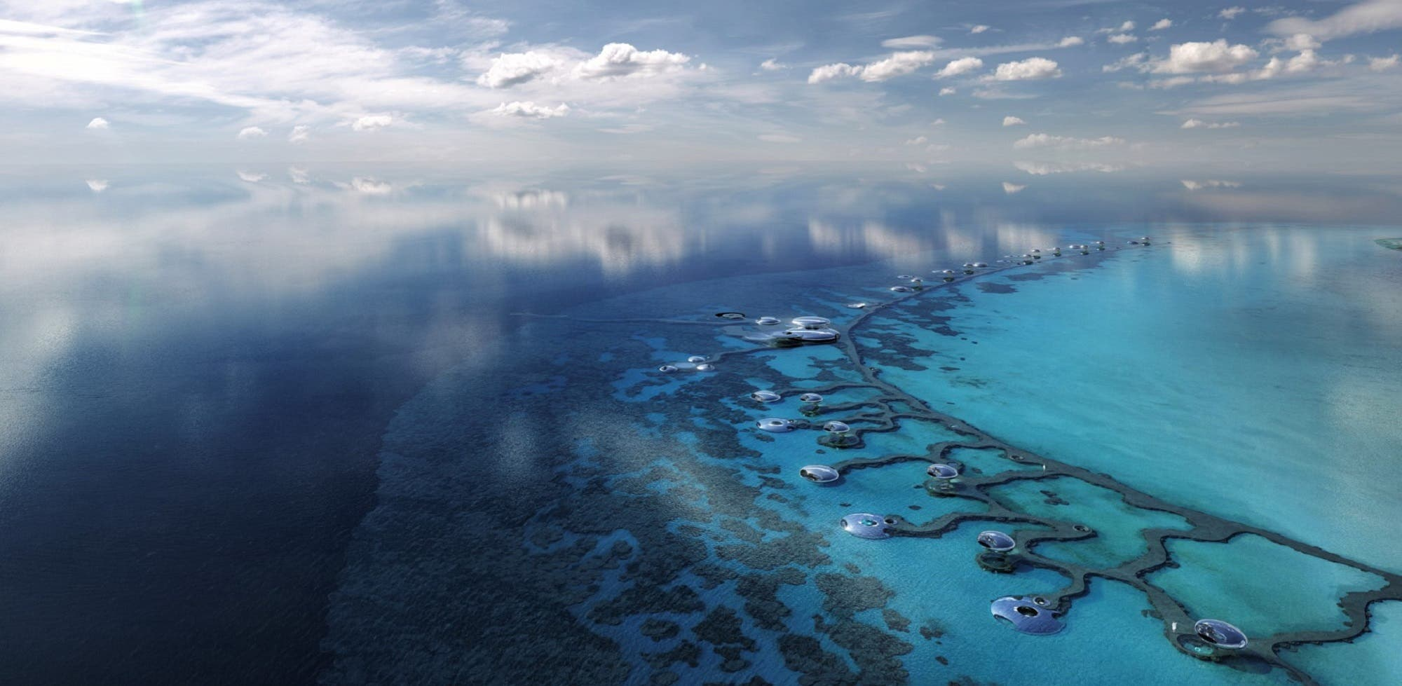 The first phase of the Red Sea project is scheduled for completion in 2022. (TRSDC)