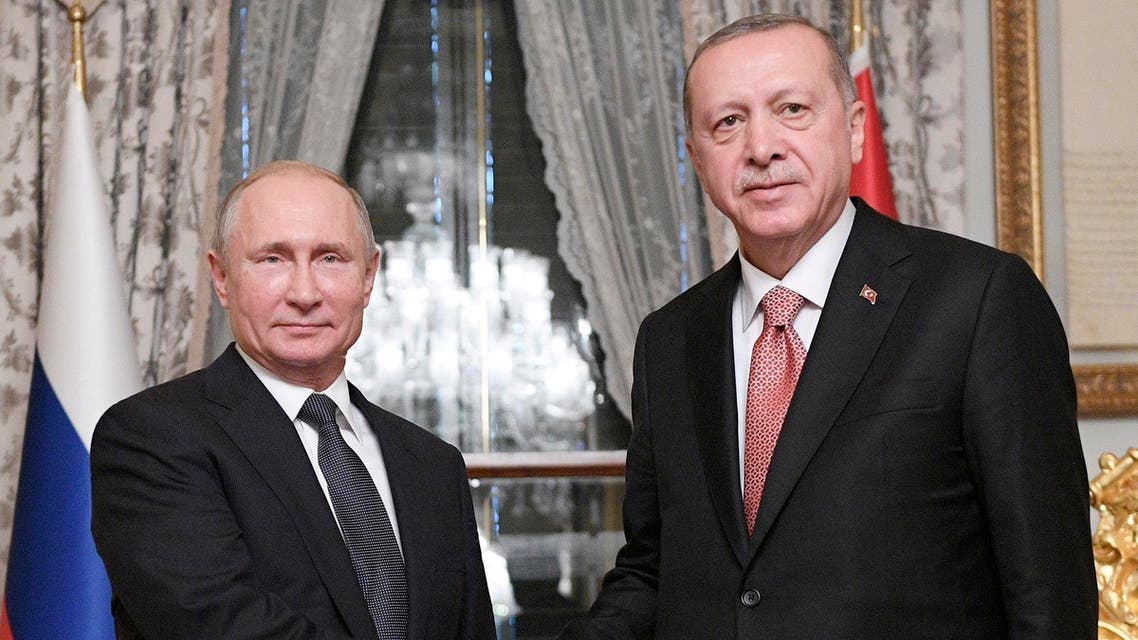 Turkish President Recep Tayyip Erdogan has arrived in Moscow for Syria-focused talks with his Russian counterpart Vladimir Putin. (File photo: AP)