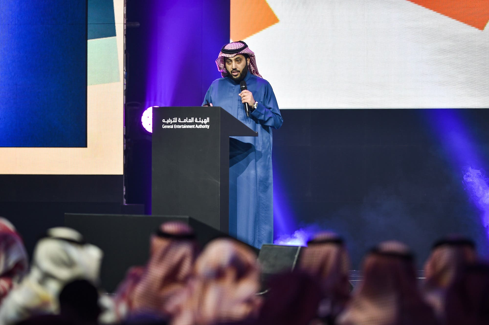Turki Al-alshikh, Chairman of the General Authority for Entertainment (AFP)