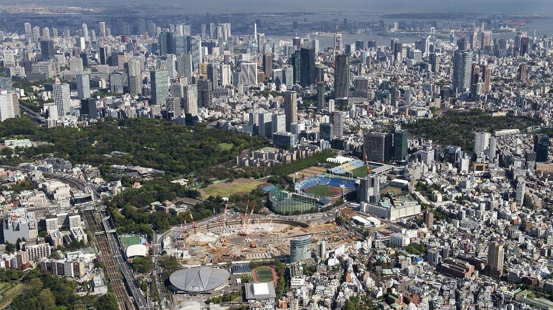 Tokyo, Japan skyline aerial view. (AFP)