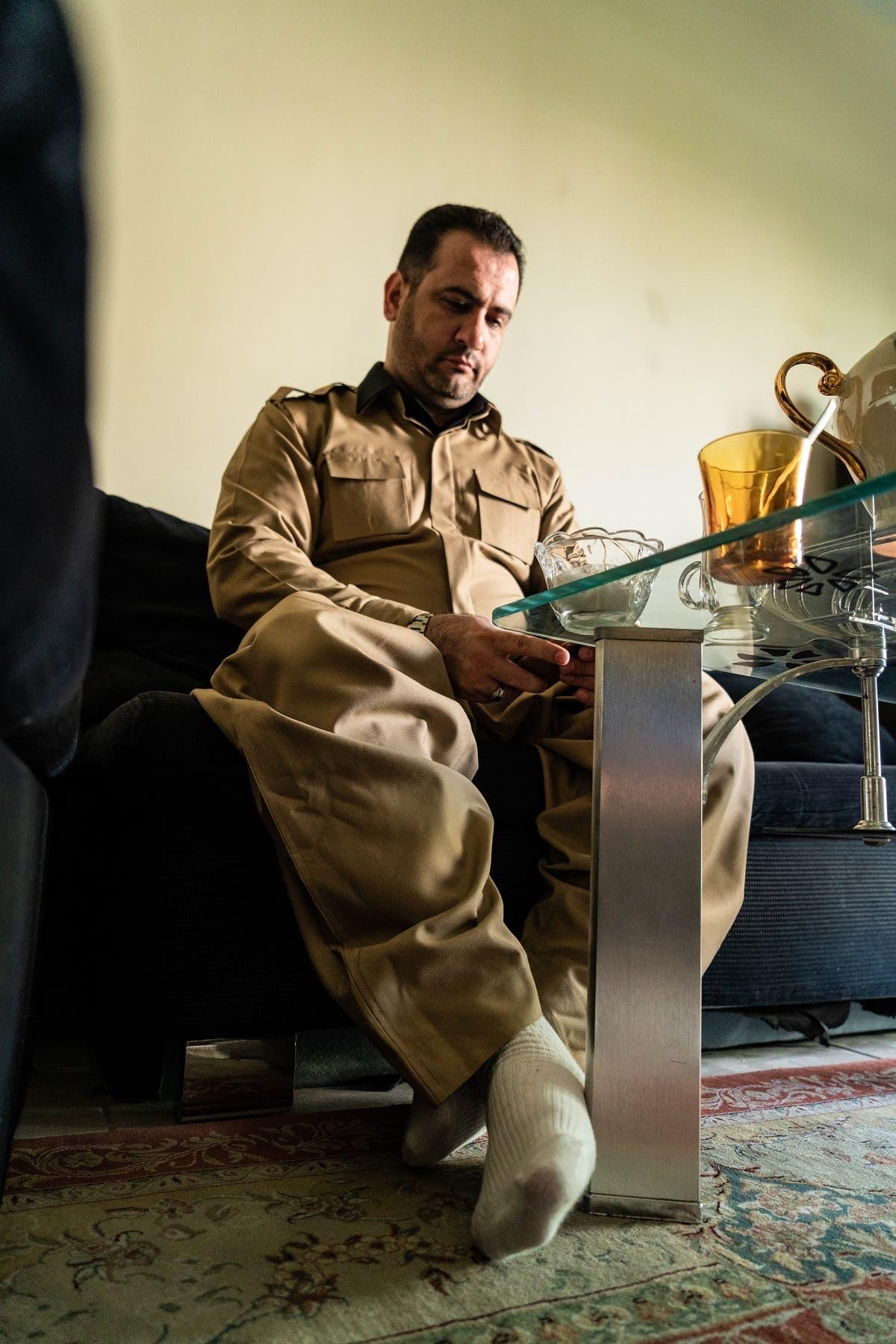 Hassan Karimi, ex-Iranian prisoner. (Al Arabiya English/Omar el-Katouri)