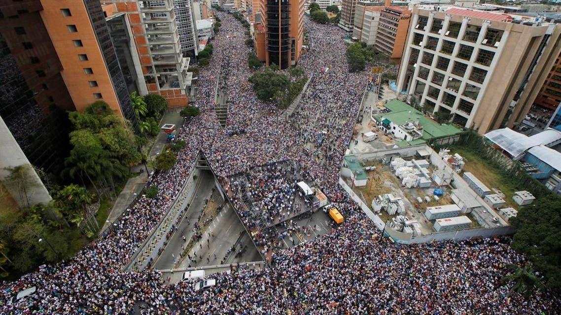 Venezuela protests reuters