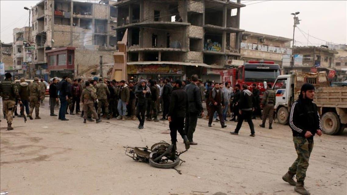 3 قتلى بسلسلة انفجارات بشمال غرب سوريا الخاضع للمعارضة