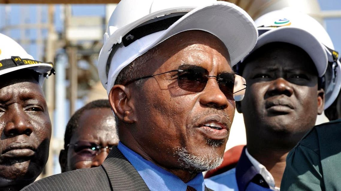 Sudan's oil minister, Azhari Abdel Qader (AFP)