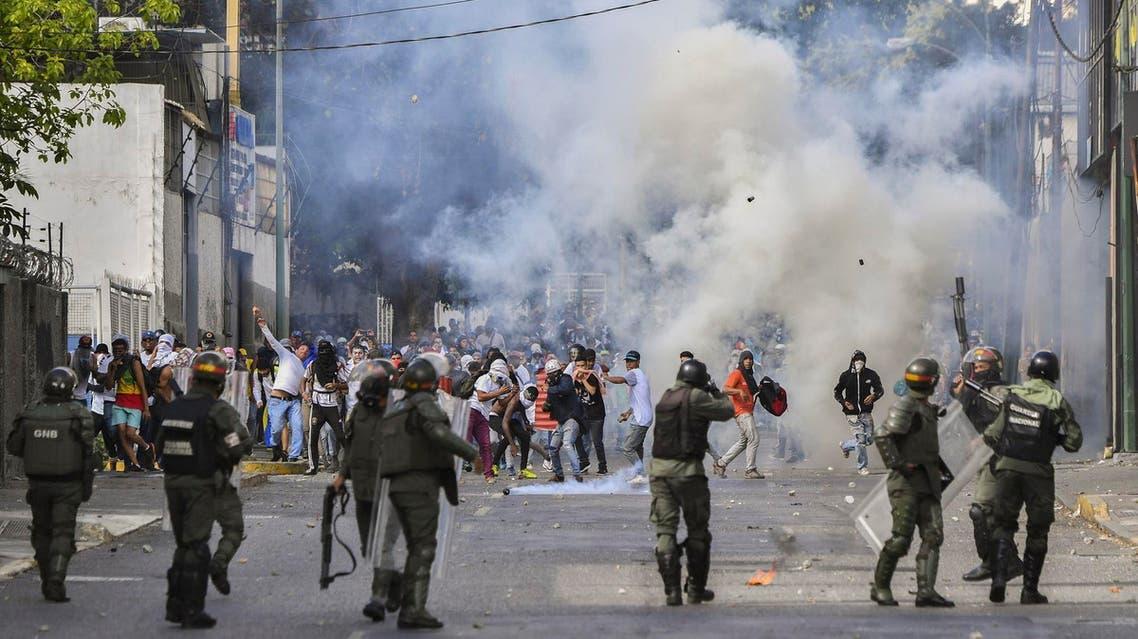 Venezuela protests (AFP)