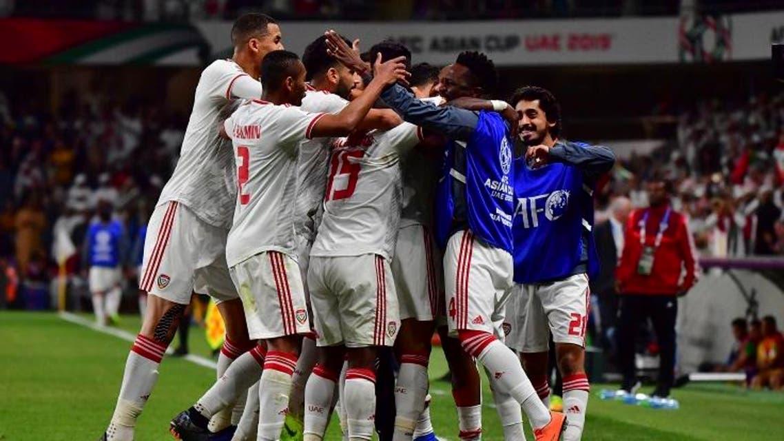 UAE team Asian cup afp