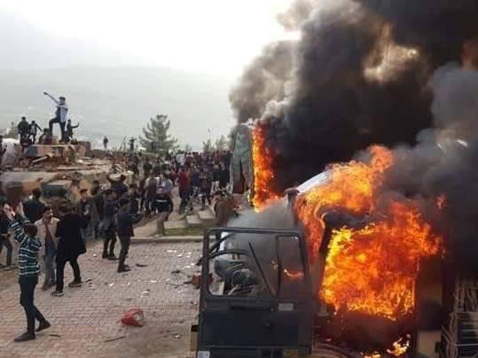 أضرار جسيمة خلفها القصف التركي على محافظة دهوك