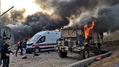 قصف تركي لمواقع قريبة لمخيمات نازحين شمال دهوك