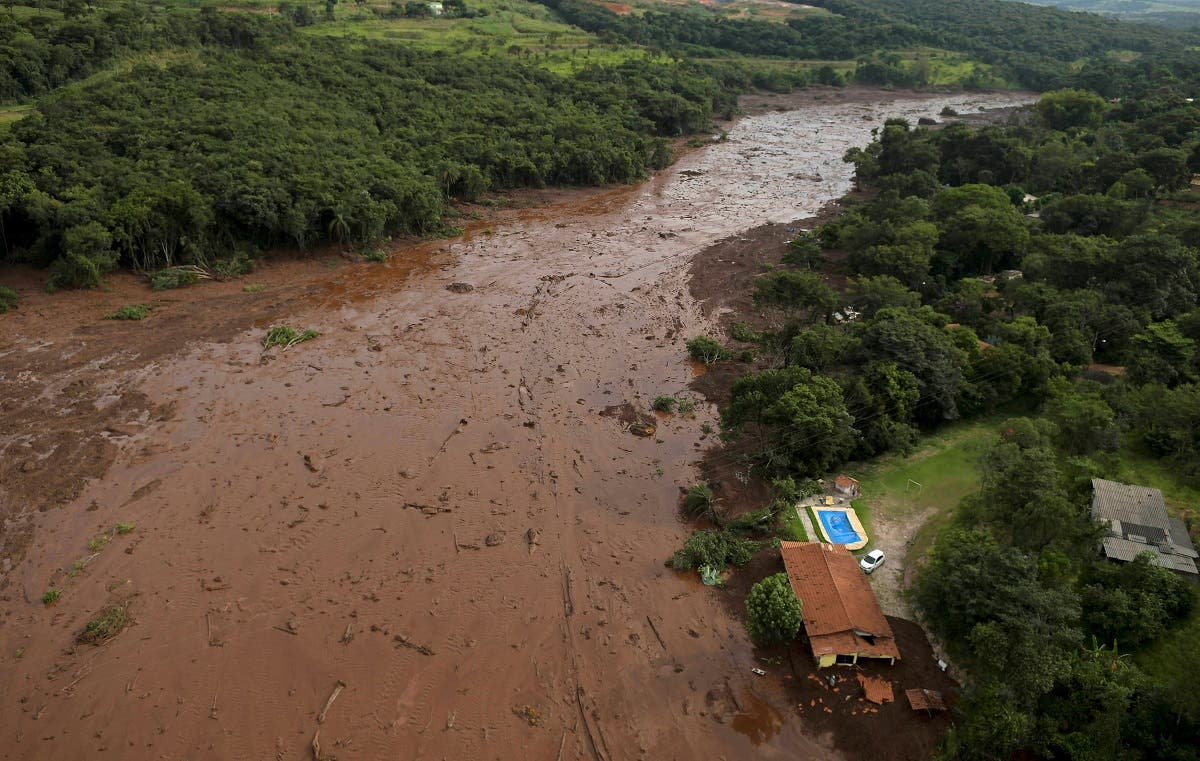 Brazil dam collapse. (Reuters)