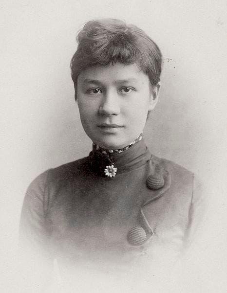 صورة لجوانا فان غوخ بونغر زوجة ثيو