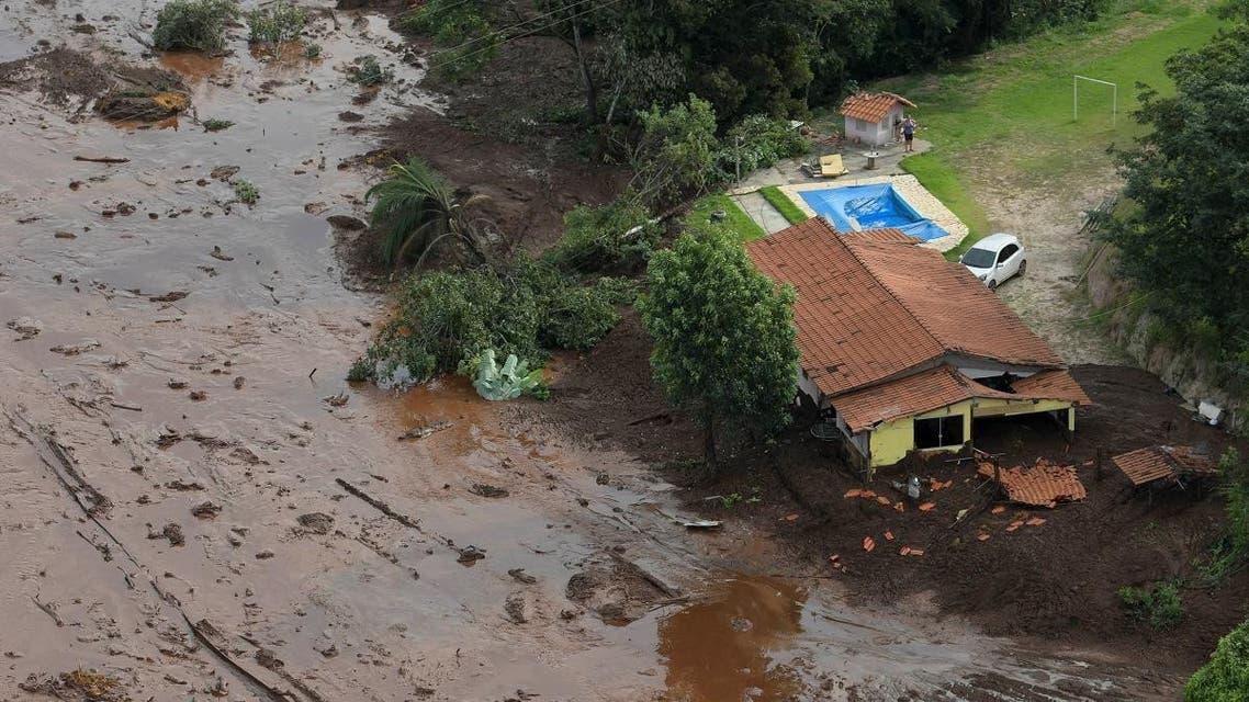 Brazil dam collapse. (Reuters)