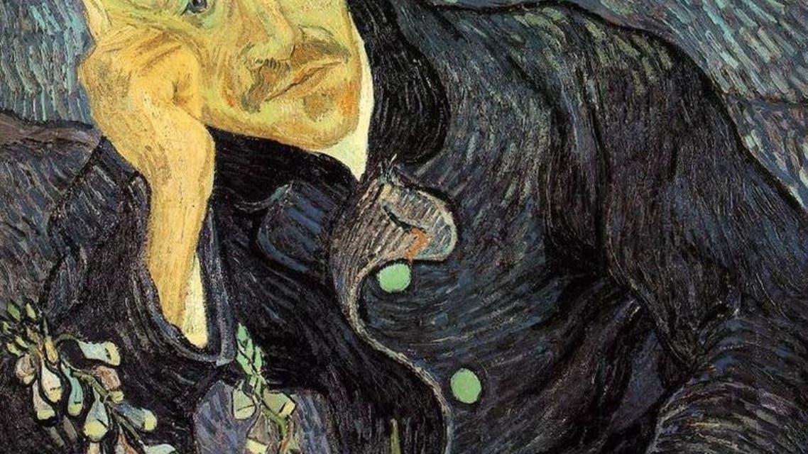 لوحة بورتريه الطبيب غاشيه والتي بيعت بنحو 82.5 مليون دولار