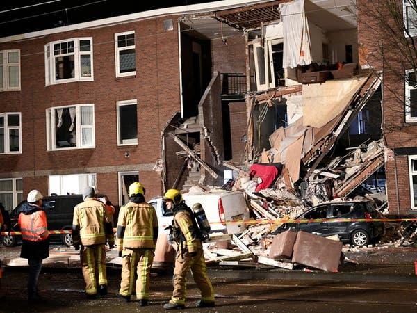 انفجار لاهاي الهولندية.. تسرب غاز و9 مصابين