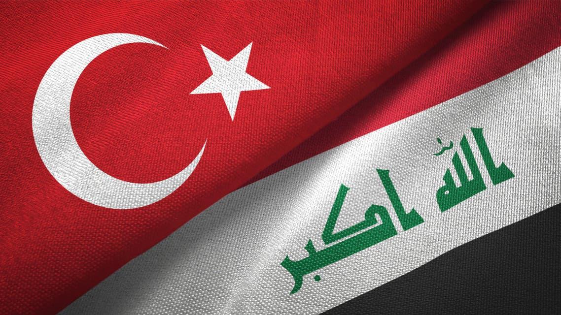 العراق - تركيا - أعلام