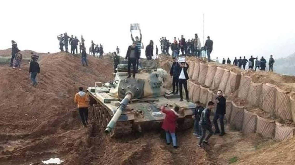من الهجوم على المعكسر التركي