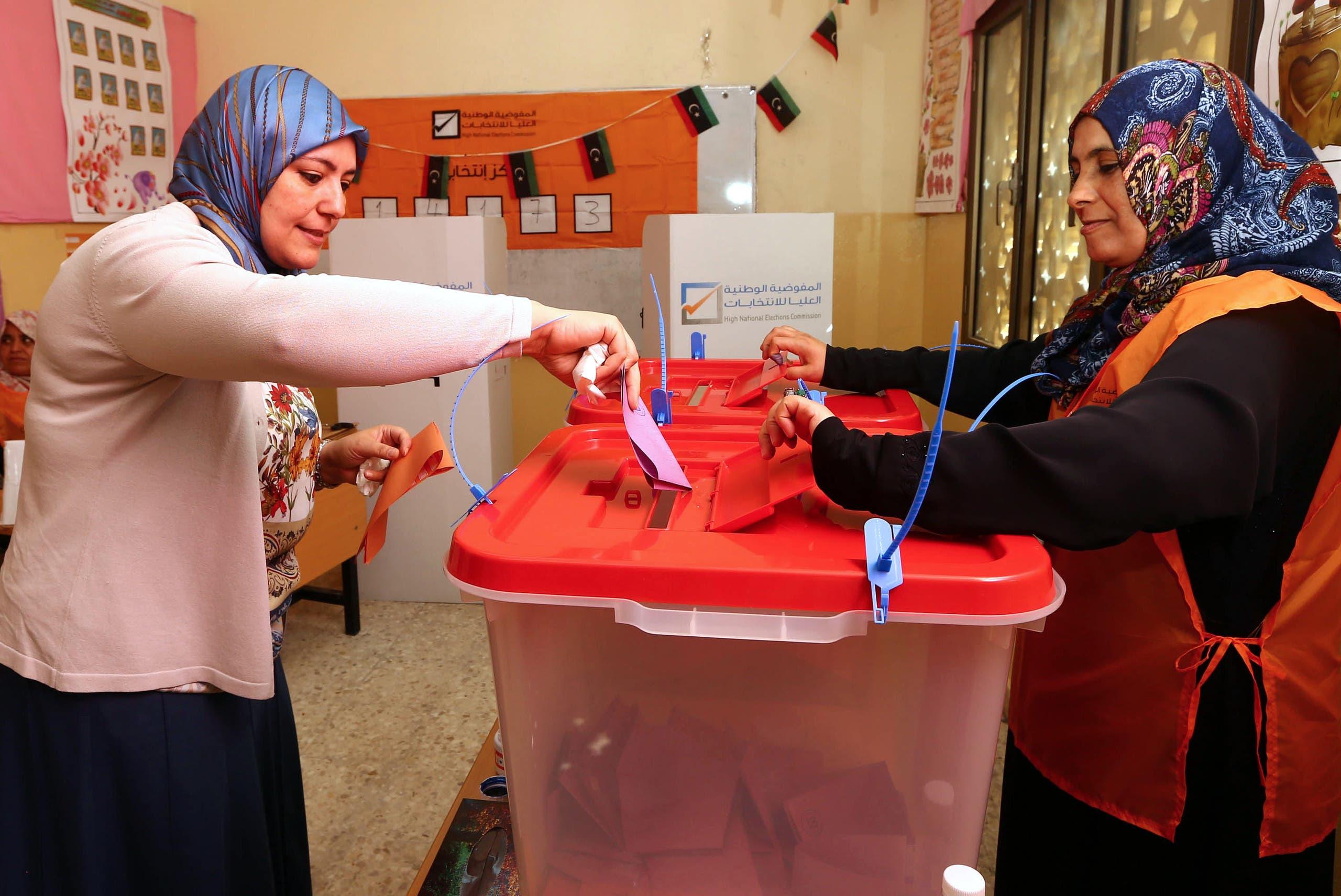 من آخر انتخابات شهدتها ليبيا في يونيو 2014