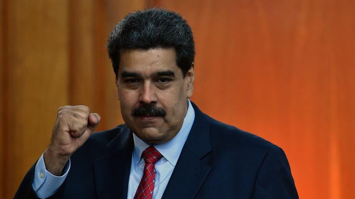 Venezuelan leader Nicolas Maduro, Jan.25, 2019. (AFP)
