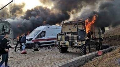 هذا ما دفع المحتجين لاقتحام المعسكر التركي في كردستان