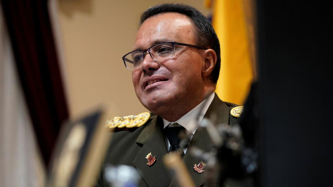 Venezuela's top military envoy to the US defected from the government of President Nicolas Maduro on Saturday, as the South American nation said the two countries had scaled back their diplomatic missions to skeleton staff. (Reuters)