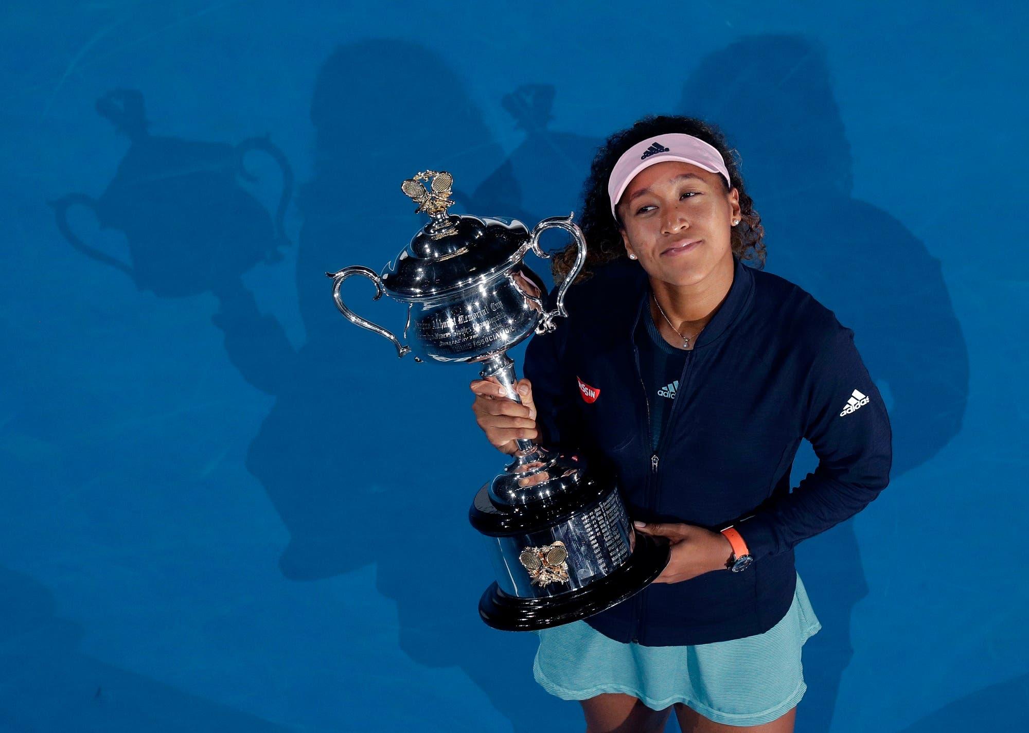 Osaka beat Petra Kvitova 7-6 (2), 5-7, 6-4 on Saturday to claim a second consecutive Grand Slam singles title. (AP)