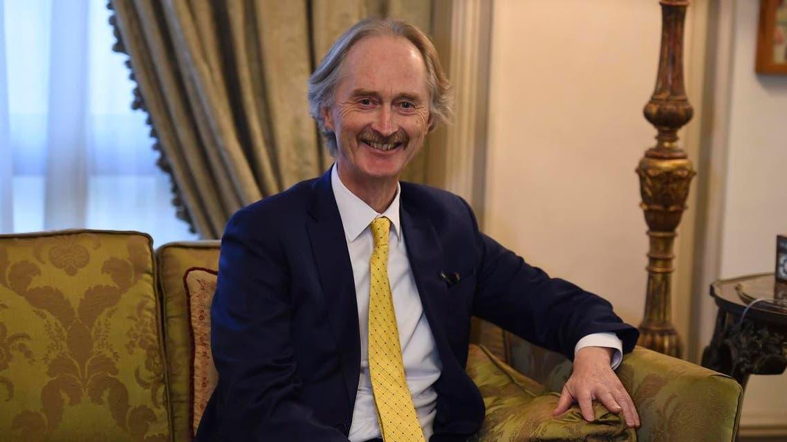 UN Special envoy to Syria Norwegian diplomat Geir Pedersen (AFP)