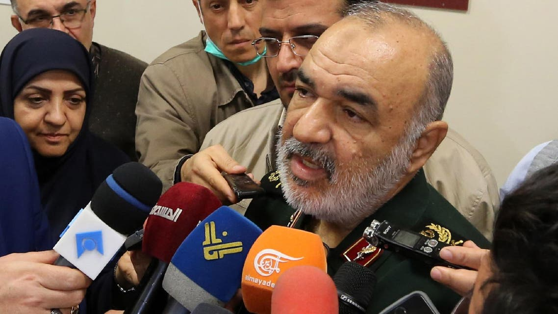 "Brigadier General Hossein Salami said on Monday Iran's strategy was to wipe ""the Zionist regime"" off the political map. (File photo: AFP)"