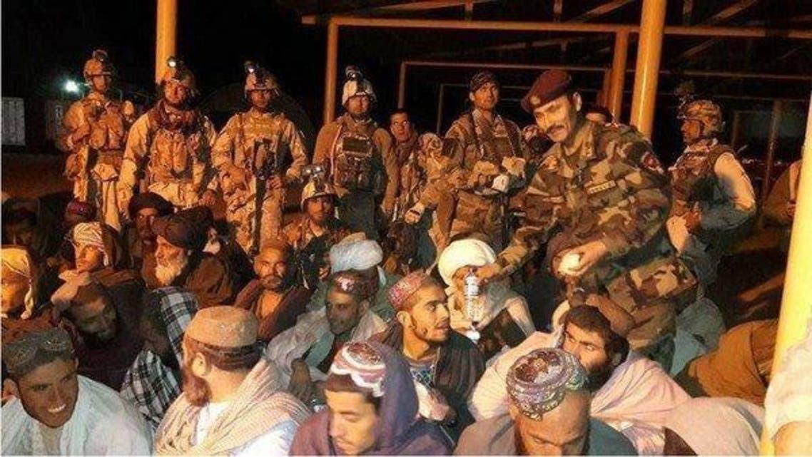 سربازان ویژه افغانستان 38 زندانی را از زندان طالبان آزاد کردند