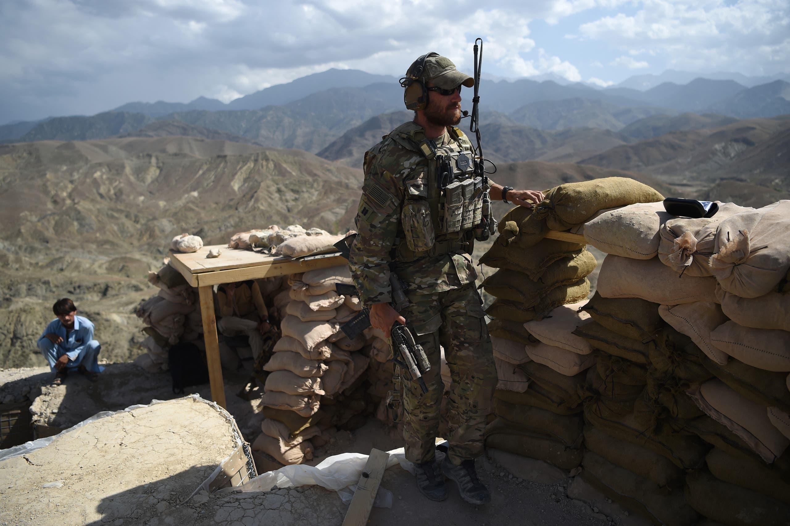 جندي أميركي في ولاية نانغرهار، في 2018 خلال الحرب على داعش (أرشيفية)