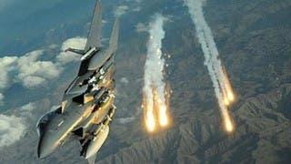 غارات للتحالف على قاعدة الديلمي ومواقع حوثية في صنعاء