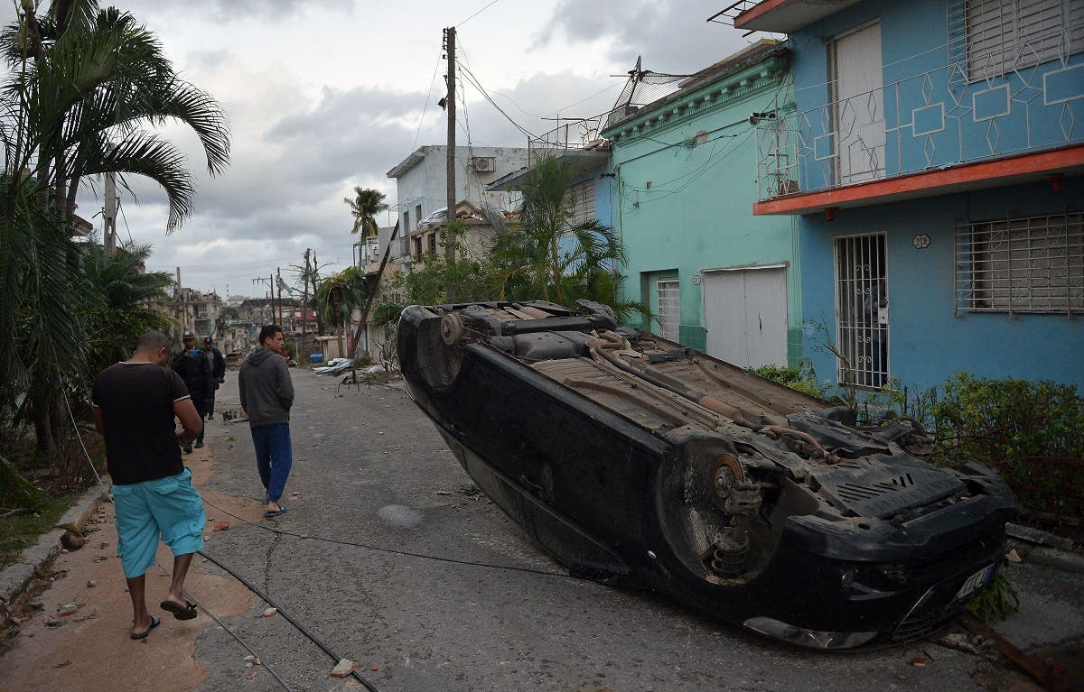 tornado hits Havana, on January 28, 2019. (AFP)