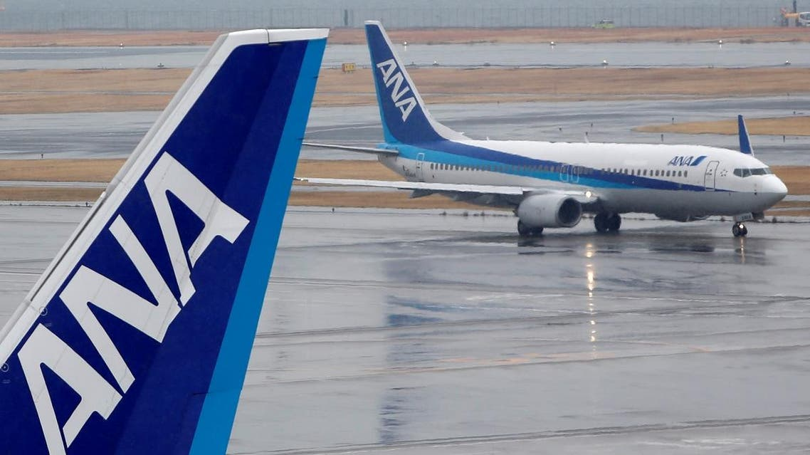 All Nippon Airways (ANA) planes are seen at Haneda airport in Tokyo February 14, 2014. (Reuters)