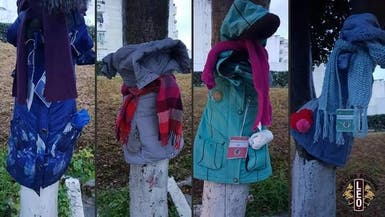 في تونس.. ملابس معلقة على الأشجار!