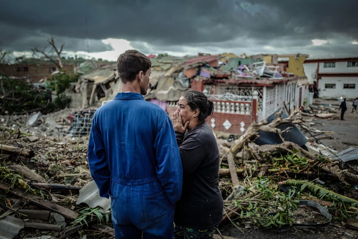 tornado hits Havana, on January 28, 2019. (AFP)