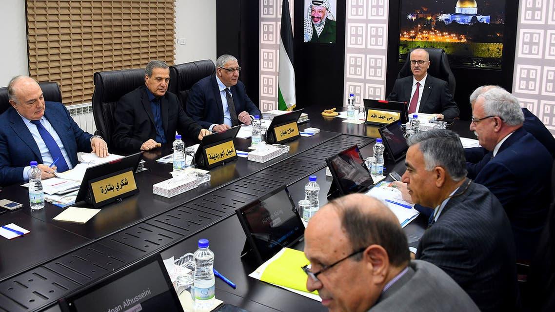 الحكومة الفلسطينية في 29-1-2019