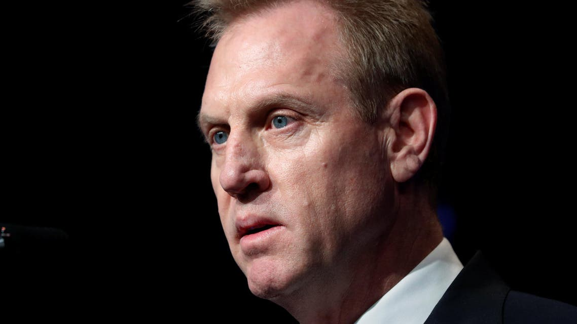 Acting U.S. Secretary of Defense Patrick Shanahan speaks during the Missile Defense Review announcement at the Pentagon in Arlington, Virginia, U.S., January 17, 2019. REUTERS/Kevin Lamarque